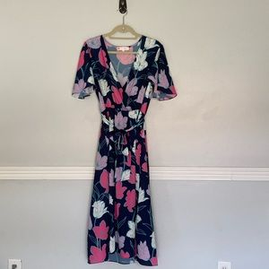 Jude Connally | Floral Camille Dress | M